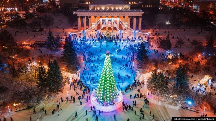 На что это похоже? Тест — угадайте место в Новосибирске по фото с высоты