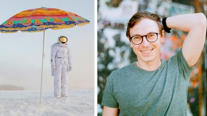 В синтепон и на Луну: чемпион мира по плаванию сделал костюм космонавта — он шокировал иностранцев