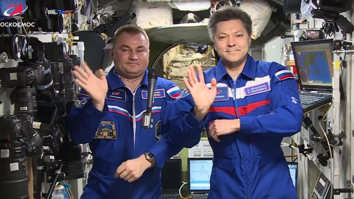 Алексей Овчинин поздравил всех землян с Днём космонавтики