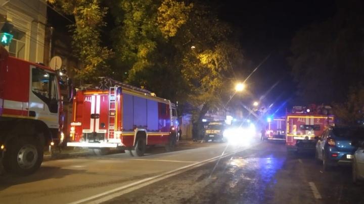 В Самаре сгорела квартира жилого дома на улице Самарской, погибла женщина