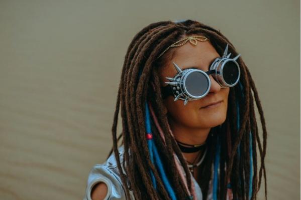 Ирина Брестер на ежегодном фестивале Burning Man