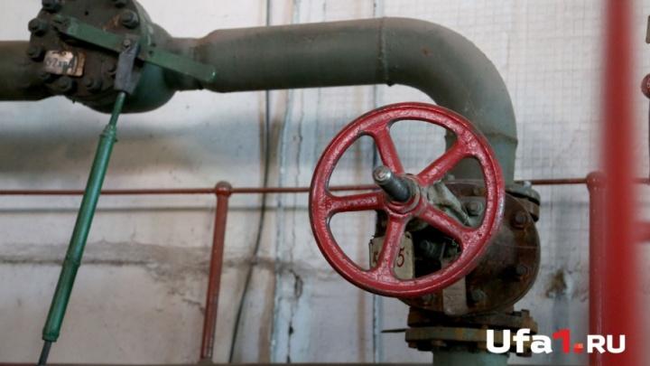 Из-за прорыва трубы в Уфе без воды остались лицей и 11 жилых домов