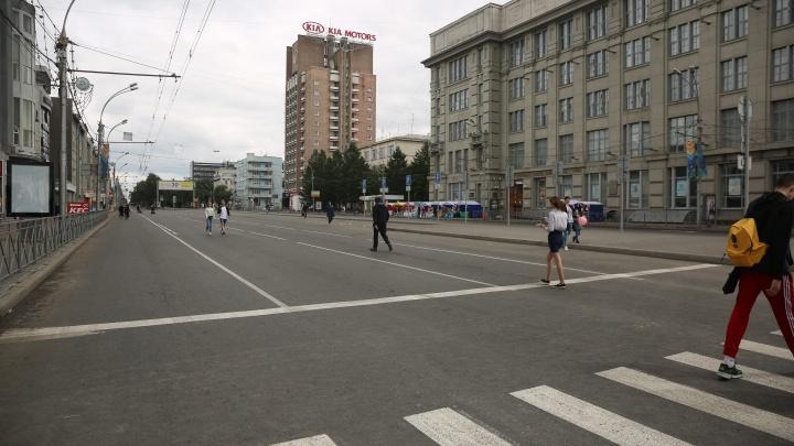 Грязь отслаивалась: улицы для пеших прогулок помыли с шампунем