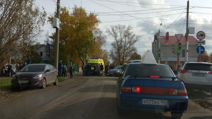 Подробности ДТП в Башкирии: маршрутка, сбившая ребенка, летела на красный