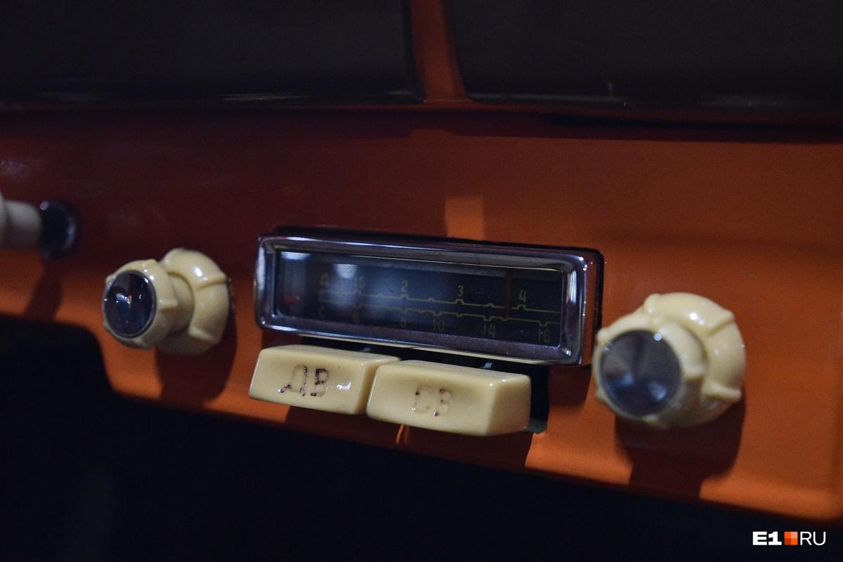 В машине есть радио