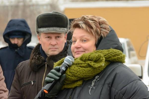 Ольга Суворова активно выступает против мусорной реформы