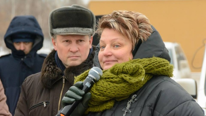 Активистка запланировала пикет в день открытия КЭФ. Ее объявили в розыск и отвезли в полицию