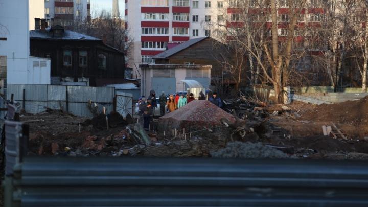 Кости, найденные возле БашГУ в Уфе, подняли на поверхность