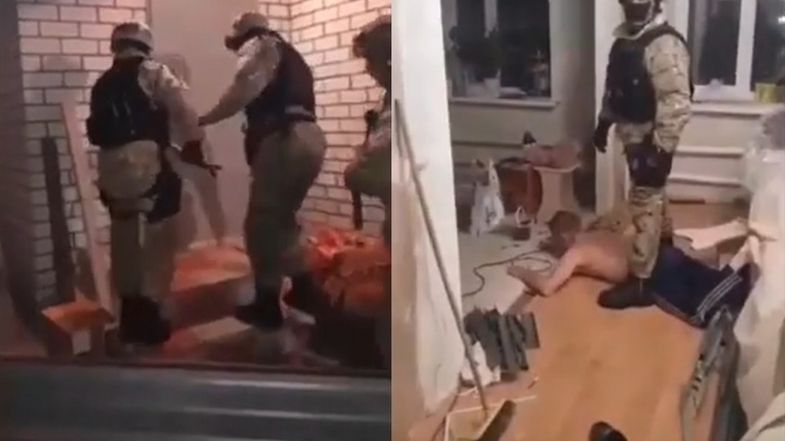 «Деньги утекали в Самару»: СК обнародовал видео задержания «вышки» крупного подрядчика