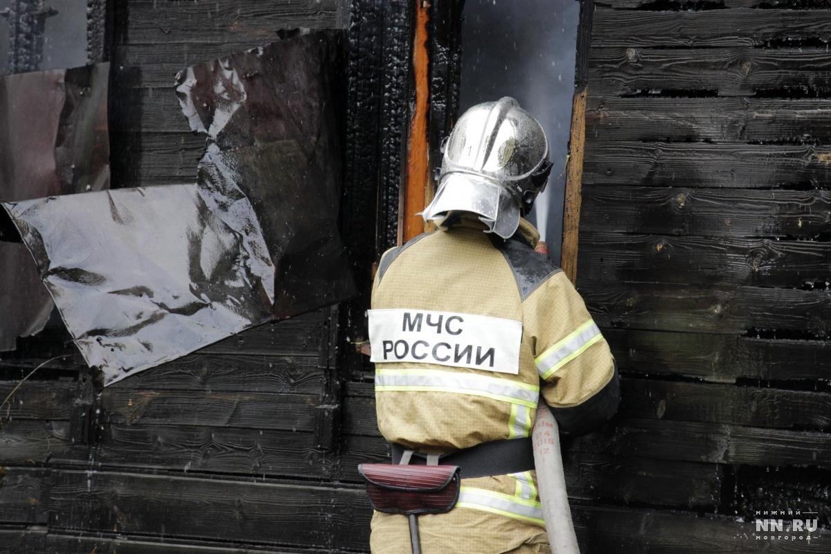 ВСосновском районе мужчина, убив сожительницу, умер напожаре