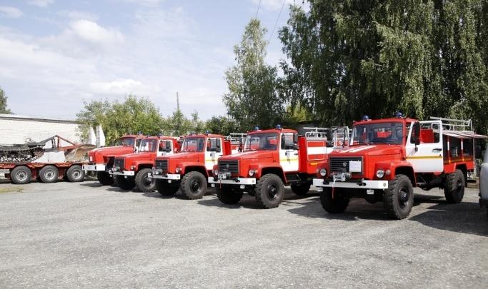Курганской области выделили 87 миллионов рублей на обновление парка противопожарной техники