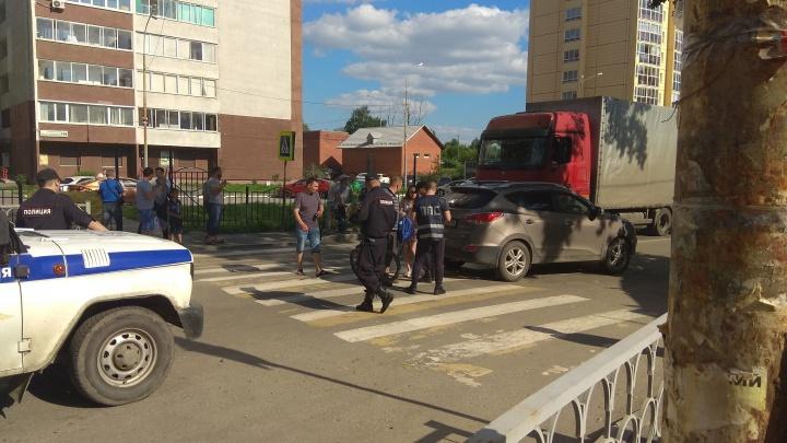 На Сортировке женщина-водитель сбила мальчика на пешеходном переходе