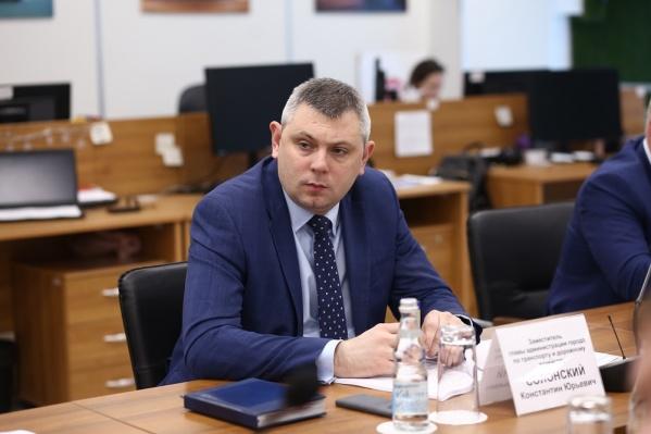 Константин Солонский считает, что реконструкция улицы Станиславского еще не закончилась