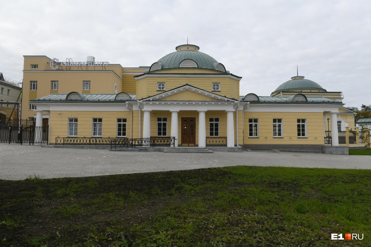 Госпиталь — один из самых старых комплексов Екатеринбурга