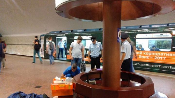 Мужчина скончался на станции метро «Заельцовская»