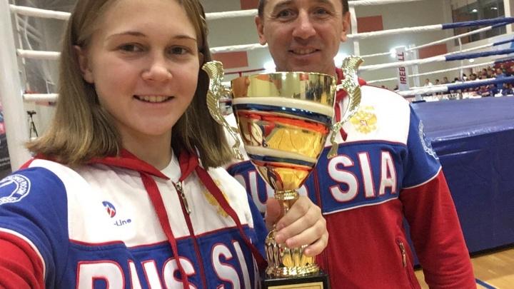 «Папа привёл на самооборону»: 19-летняя ярославна стала чемпионкой по кикбоксингу