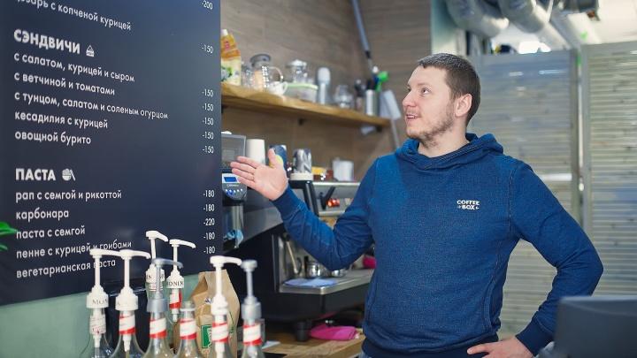 Первые деньги заработали в подземном переходе: история парней, которые ввели моду пить кофе на ходу