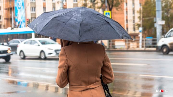 Синоптики прочат дожди в Самарской области