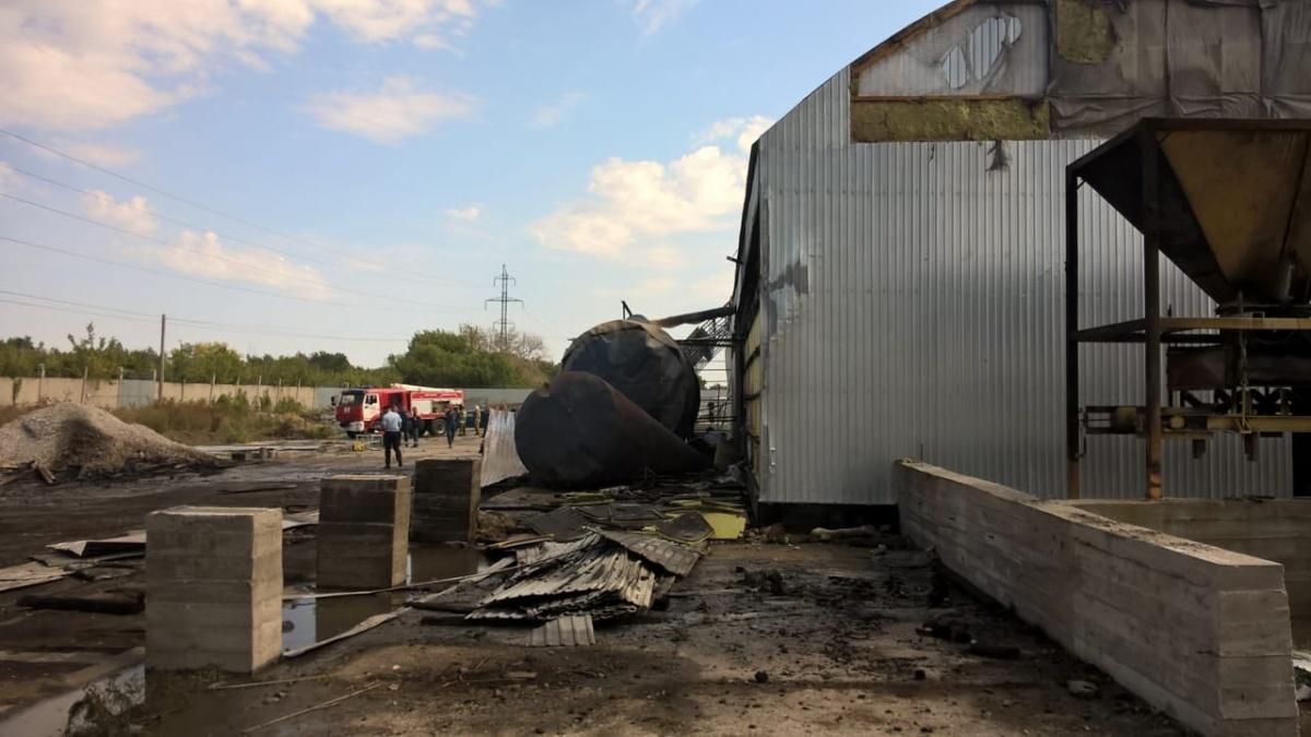 Горело топливо: в Тольятти из-за пожара на заводе погибли два человека