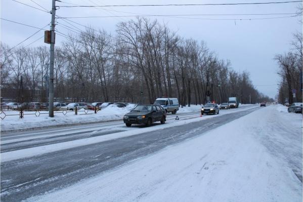 Пешехода сбили утром 4 февраля