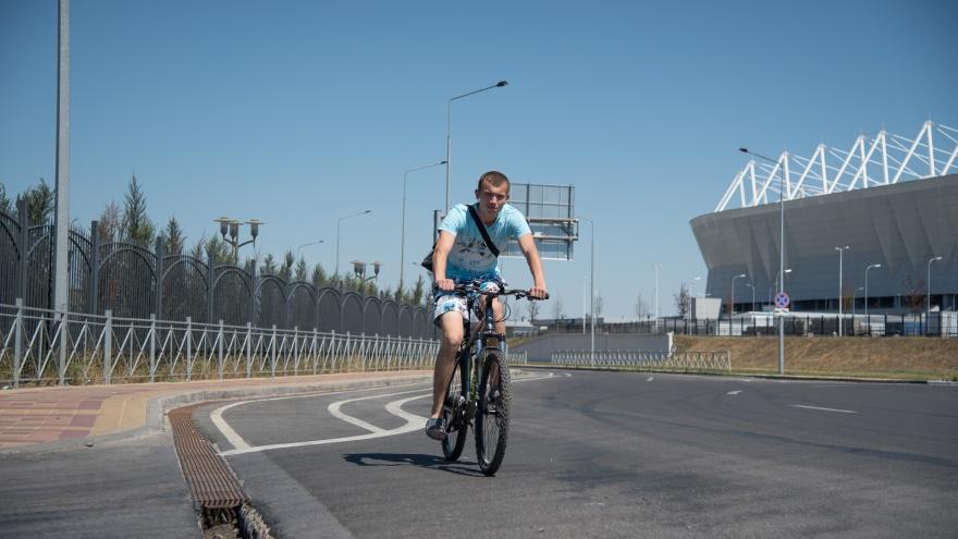 Новую схему велодорожек представили власти Ростова