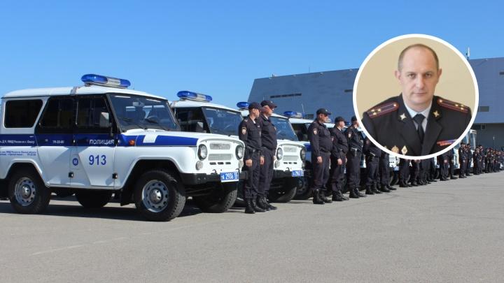 Вместо Коломийца областную полицию временно возглавил Вячеслав Крючков