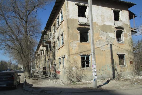 В апреле волгоградцы показали страшный дом журналистам