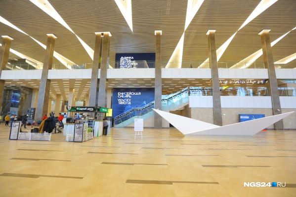 Об открытии рейсов объявили в аэропорту