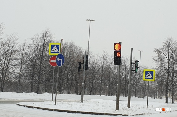Новые светофоры тоньше стандартных