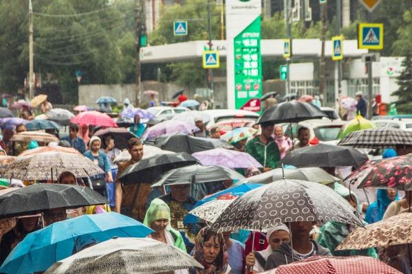 Зонты в ближайшие три дня лучше не забывать