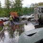 Власти объяснили, почему дорожники на Садовой укладывали асфальт во время дождя