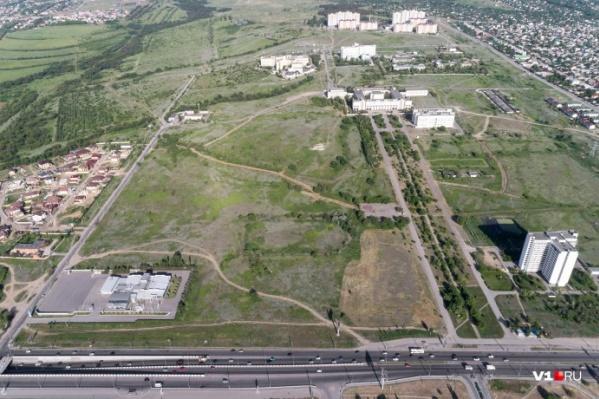 На территории почти в 13 гектаров будет построен многопрофильный центр
