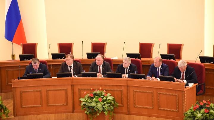 Депутатам донского Заксобрания закупят сувенирных канцтоваров на полмиллиона рублей