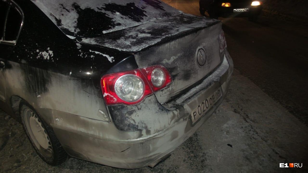 ВодительVolkswagen сбежал с места аварии