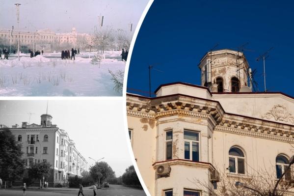 Дом с башенкой в самом центре города — одно из самых симпатичных советских зданий в Тюмени. Его состояние оставляет желать лучшего