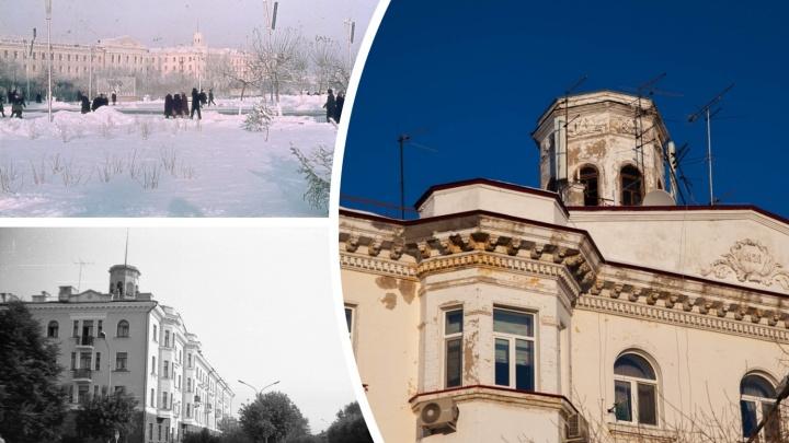 На «сталинке» в центре Тюмени разрушается башня. Когда отремонтируют дом с видом на правительство?
