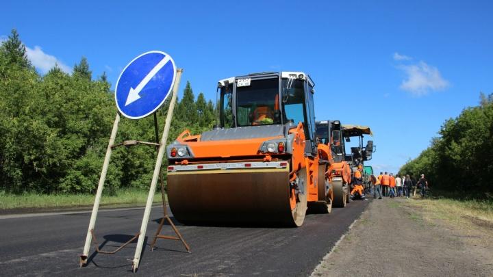 Дорожники показали Красноярский тракт, отремонтированный за 100 миллионов старым асфальтом
