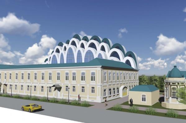 В первом здании, на Парижской Коммуны, 20, расположен музей Сурикова