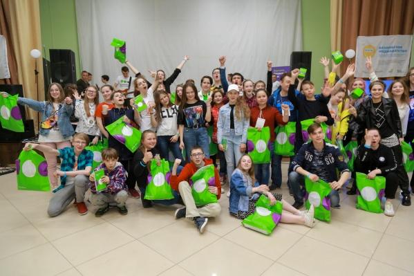 На слет прибыло около 500 ребят из разных городов России и зарубежья