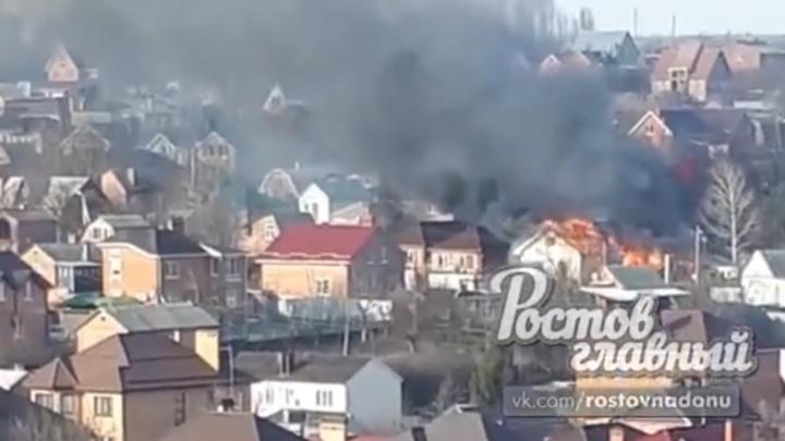 При пожаре на улице Доброй погиб человек