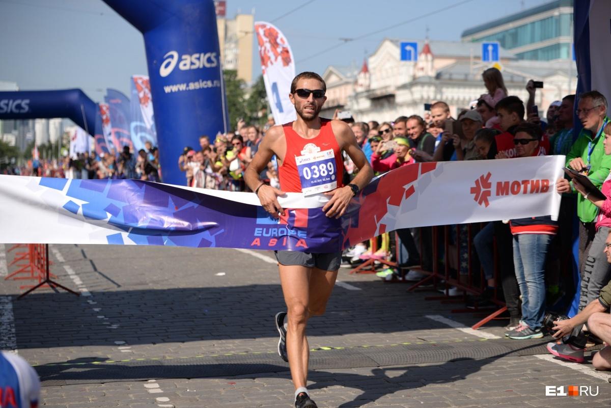 Победный финиш Юрия Чечуна