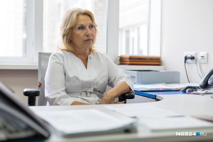 Марина Васильевна Борисова, завотделением
