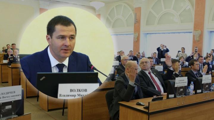 «Устроим инаугурацию»: первый комментарий новоиспечённого мэра Ярославля Владимира Волкова