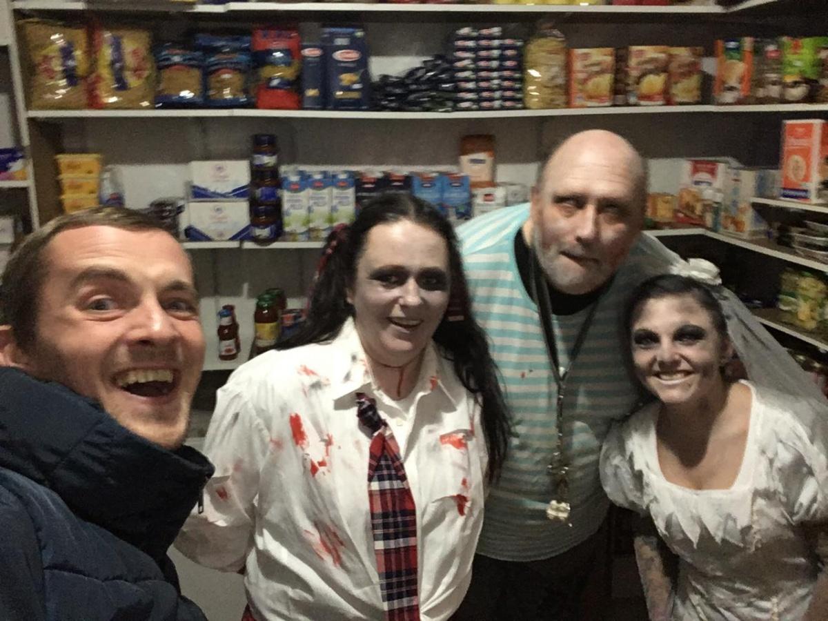 С соседями на Хеллоуин