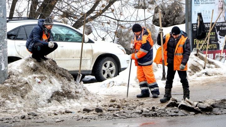 Февральские снегопады обогатили нижегородскую казну на 9,5 миллиона рублей