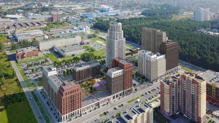 Американские высотки в Краснолесье: экскурсия по кварталу, где дома копируют лучшие здания Нью-Йорка