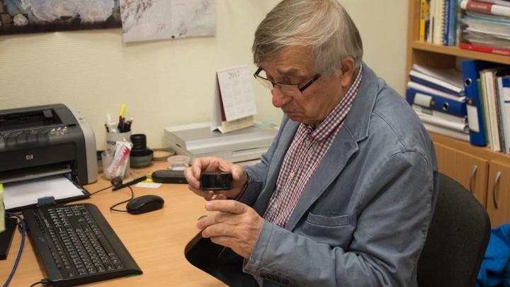 «Это ваш челябинский метеорит виноват»: новый минерал назвали в честь уральского учёного