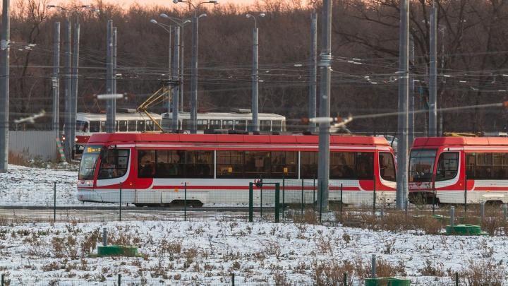 К стадиону «Самара Арена» запустили 2 новых трамвая