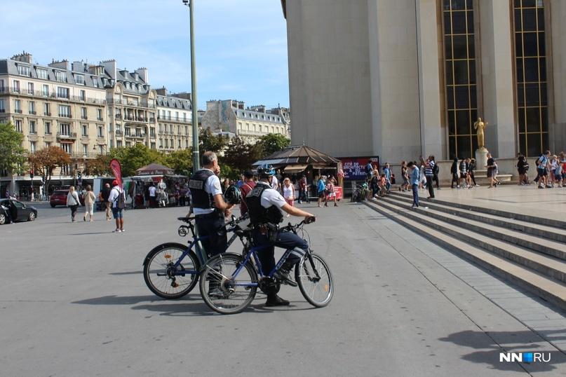 На них ездит даже местная полиция