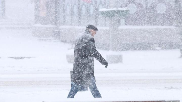 По-прежнему снежно: какая погода ожидает Ростов на этой неделе